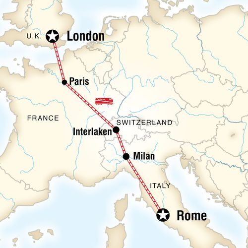 London to Rome Adventure
